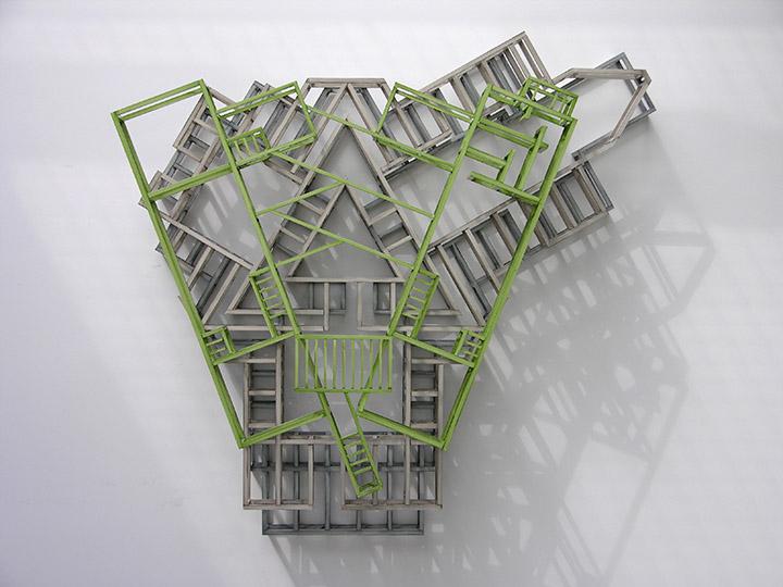 Atelier Jianshu Over R.M. Schindler's Packard Residence, 2005