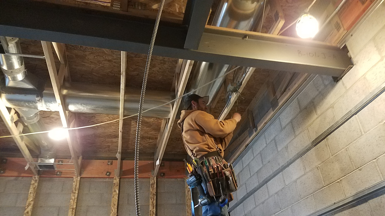The last few weeks have been primarily about electrical. I'm very impressed with the electricians and their attention to detail. At this point they are a few days away from having all of the rough electrical finished.