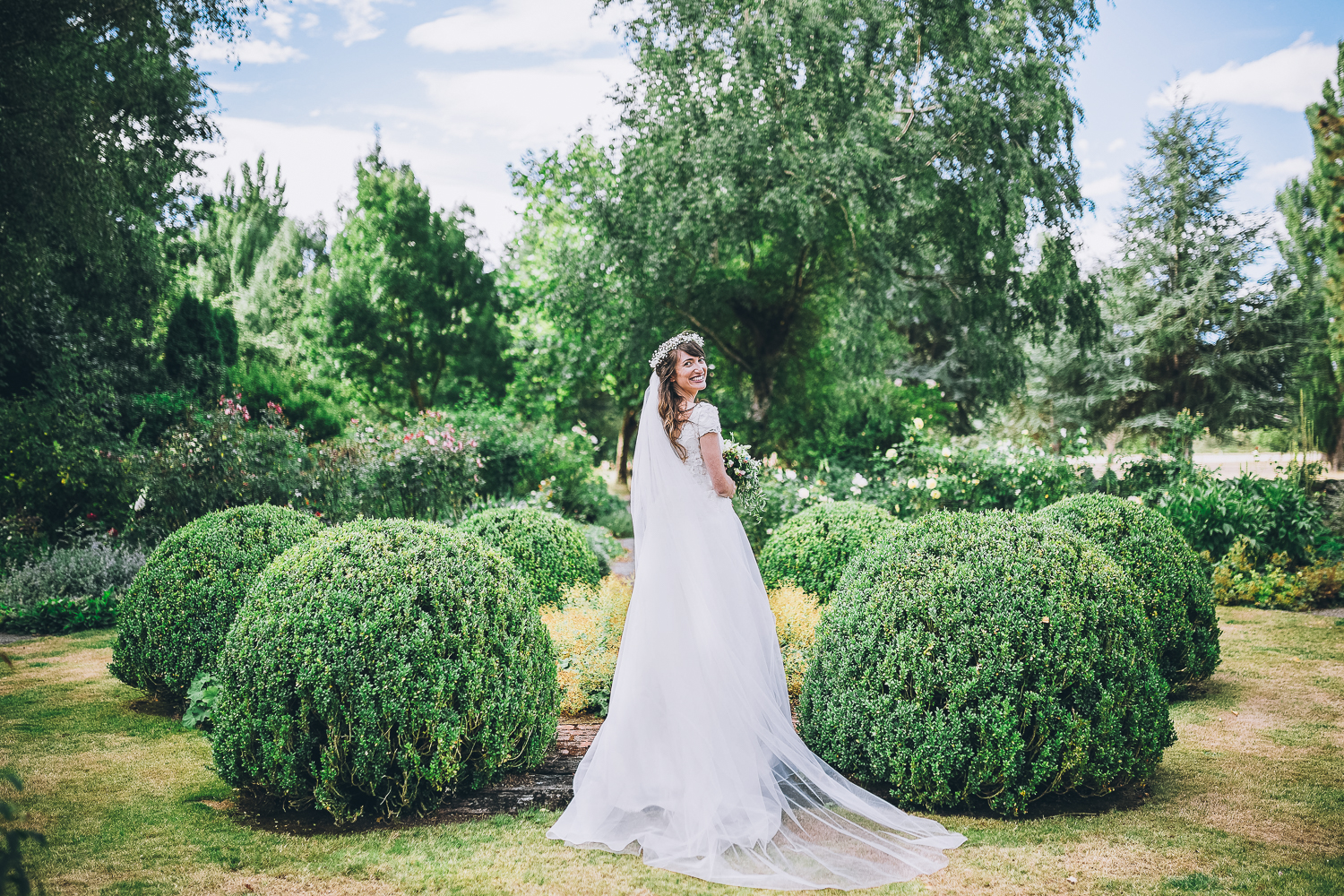 Flaxmere Garden - New Zealand Wedding Photographer