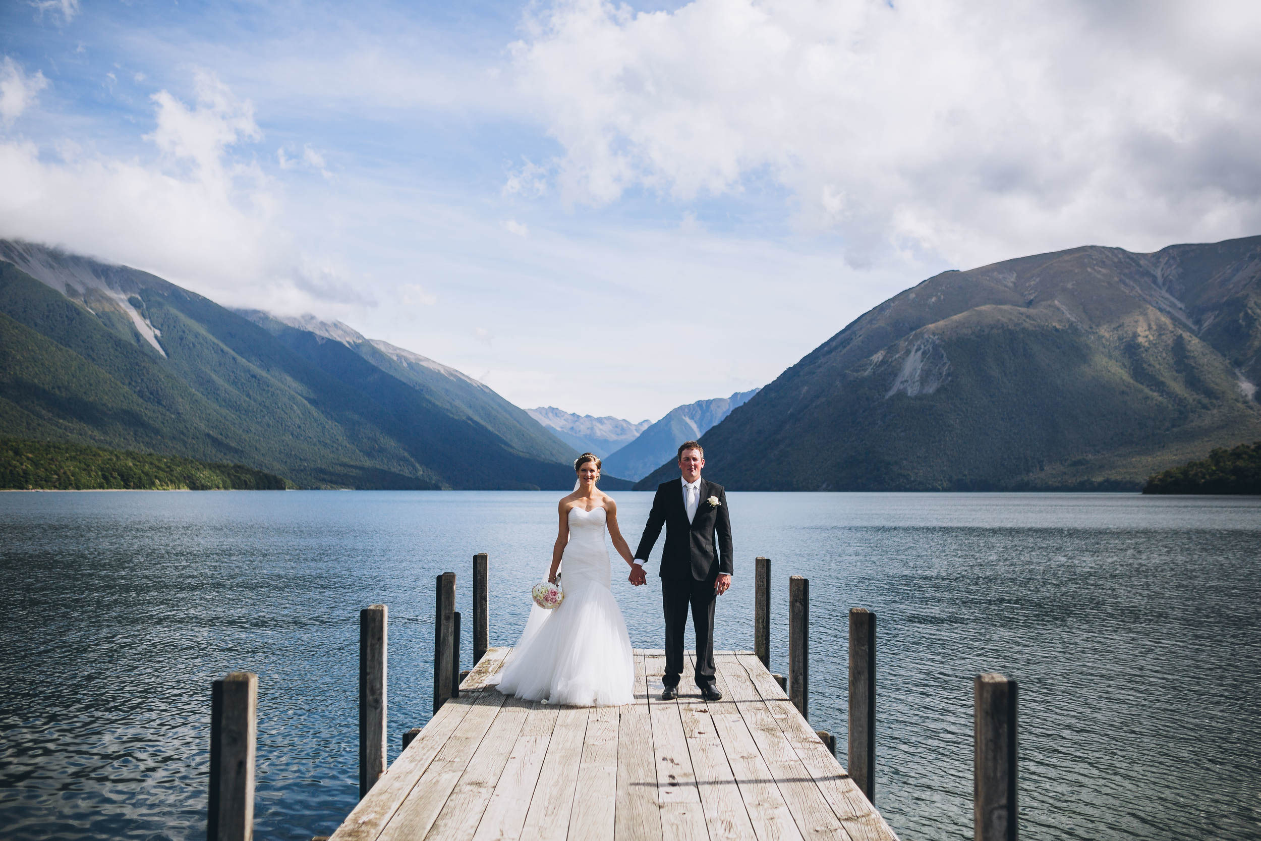 Lake Rotoiti Wedding - St Arnaud Wedding - Nelson Wedding Photography - Nelson Wedding Photographers - The Woods Photography