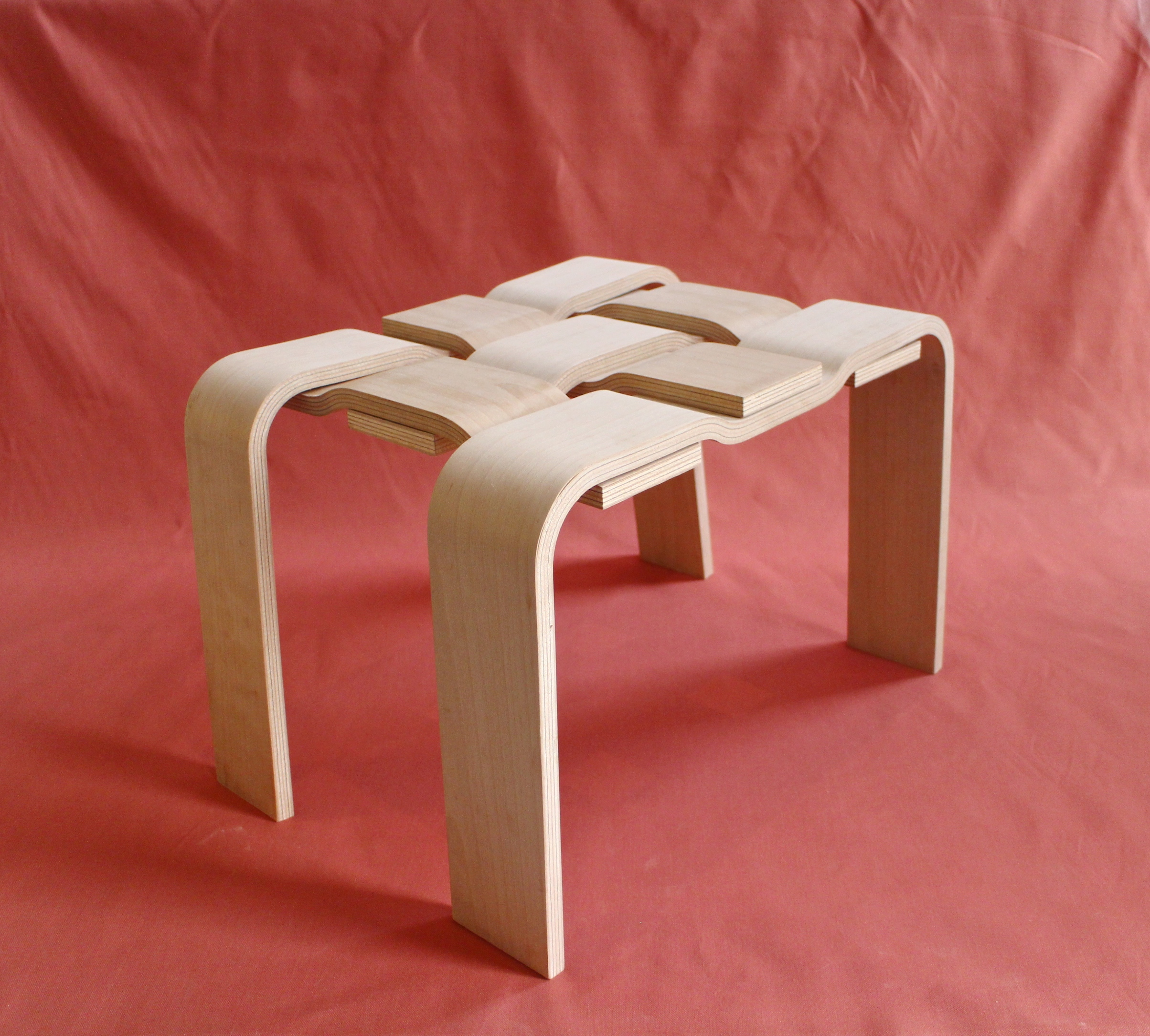 Warp & Weft Stool Full