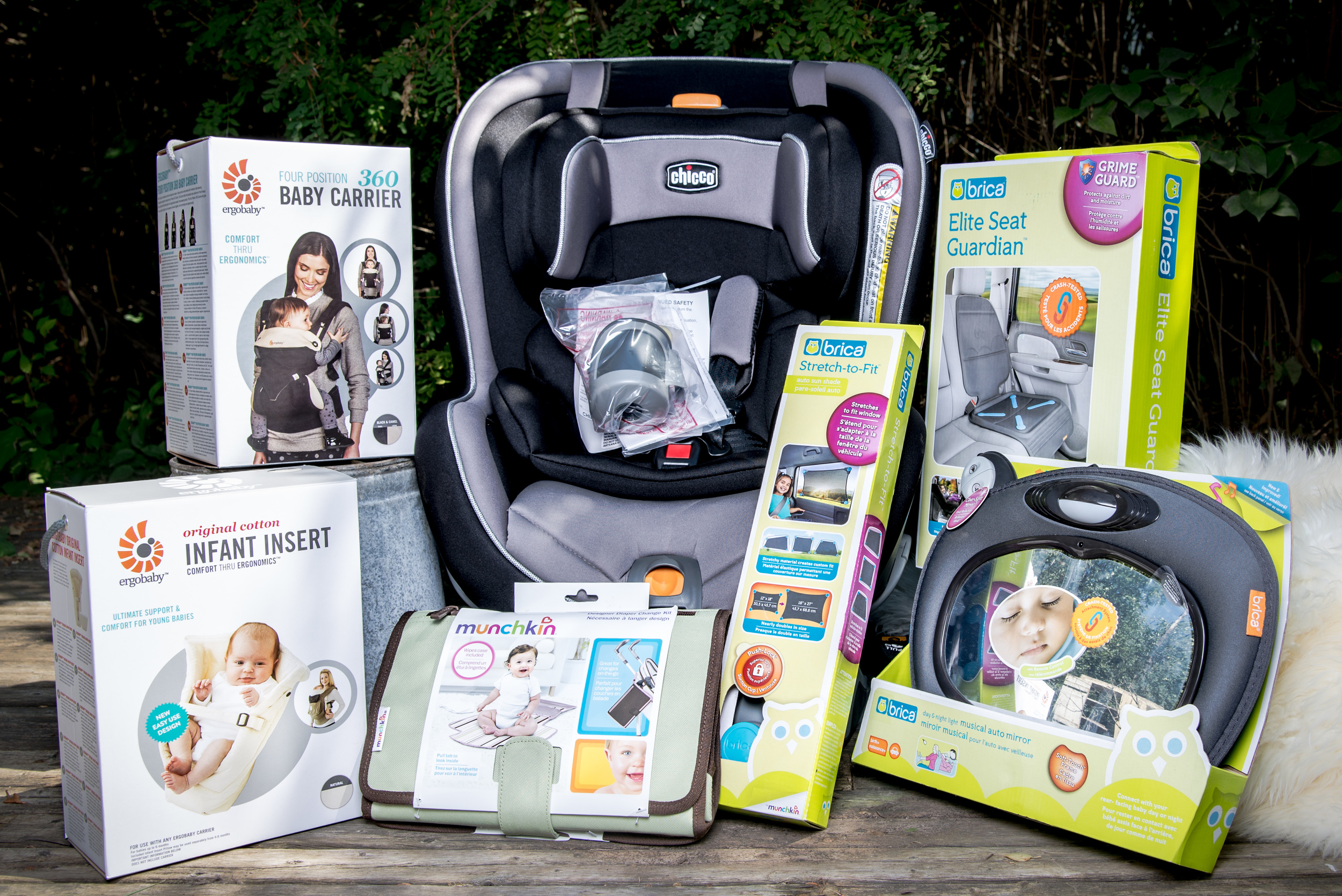 """Baby On the Go Prize Package"" from The Bismarck Doula Community"