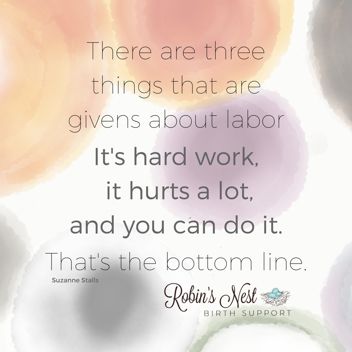 Three things about labor