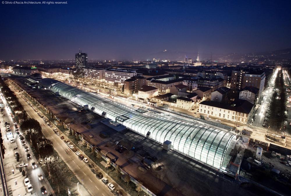 Porta Susa Railway Station, Turin, Italy by Silvio d'Ascia Architecture