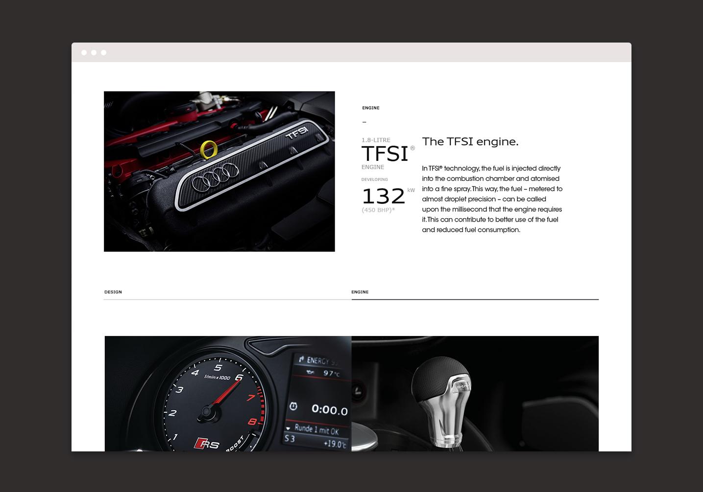 Audi Offers - UI
