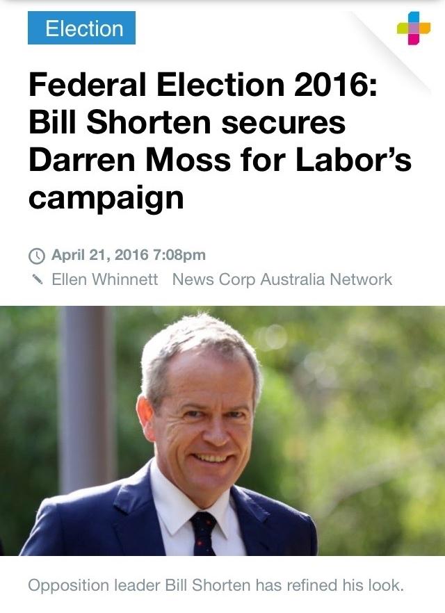 News.com.au, April 21, 2016