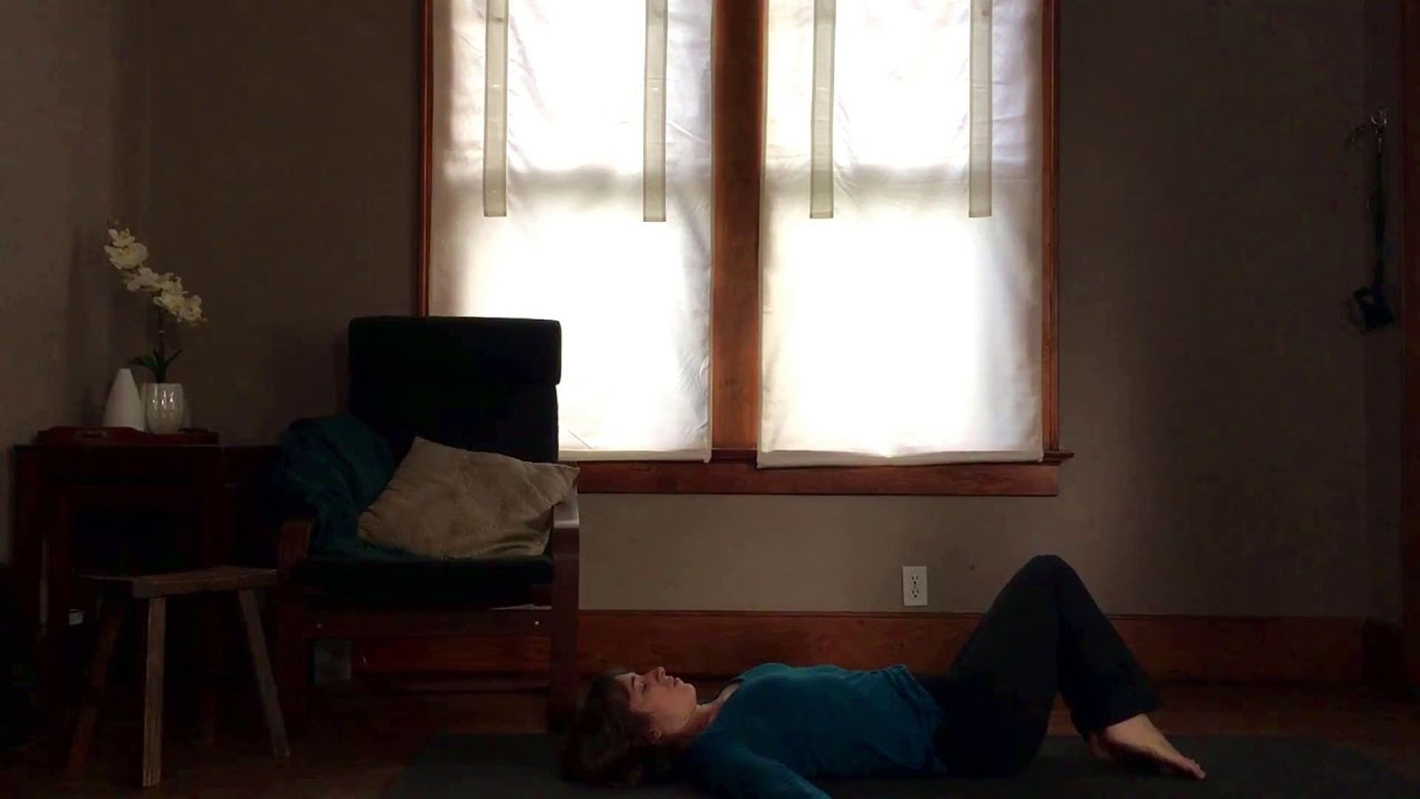 Short Evening Practice - Wind-down before bed with this easy yoga and meditation practice. Designed to quiet your mind and relax your body. You can even do this lying down in bed if you like.