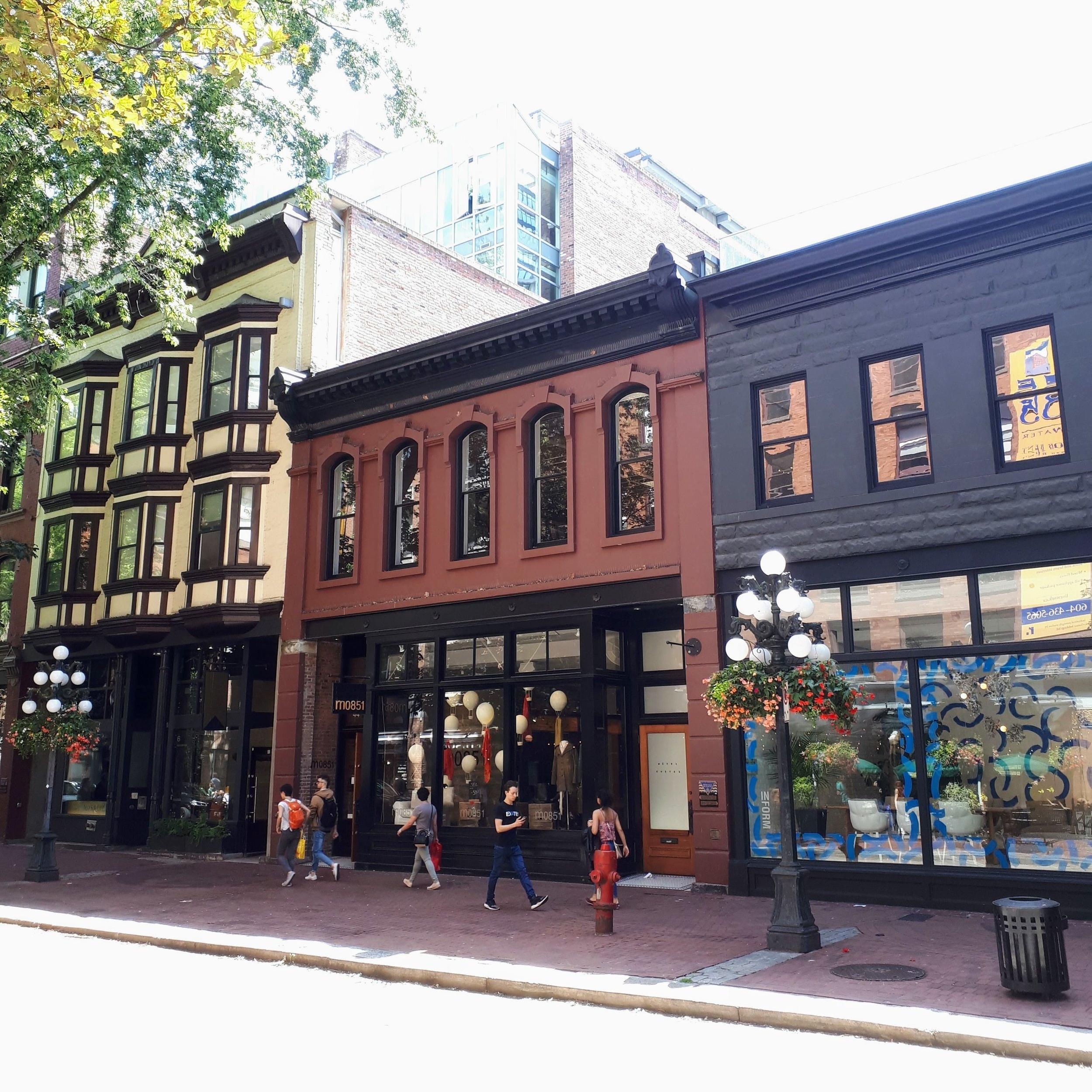 Gastown en Vancouver, BC, Canadá