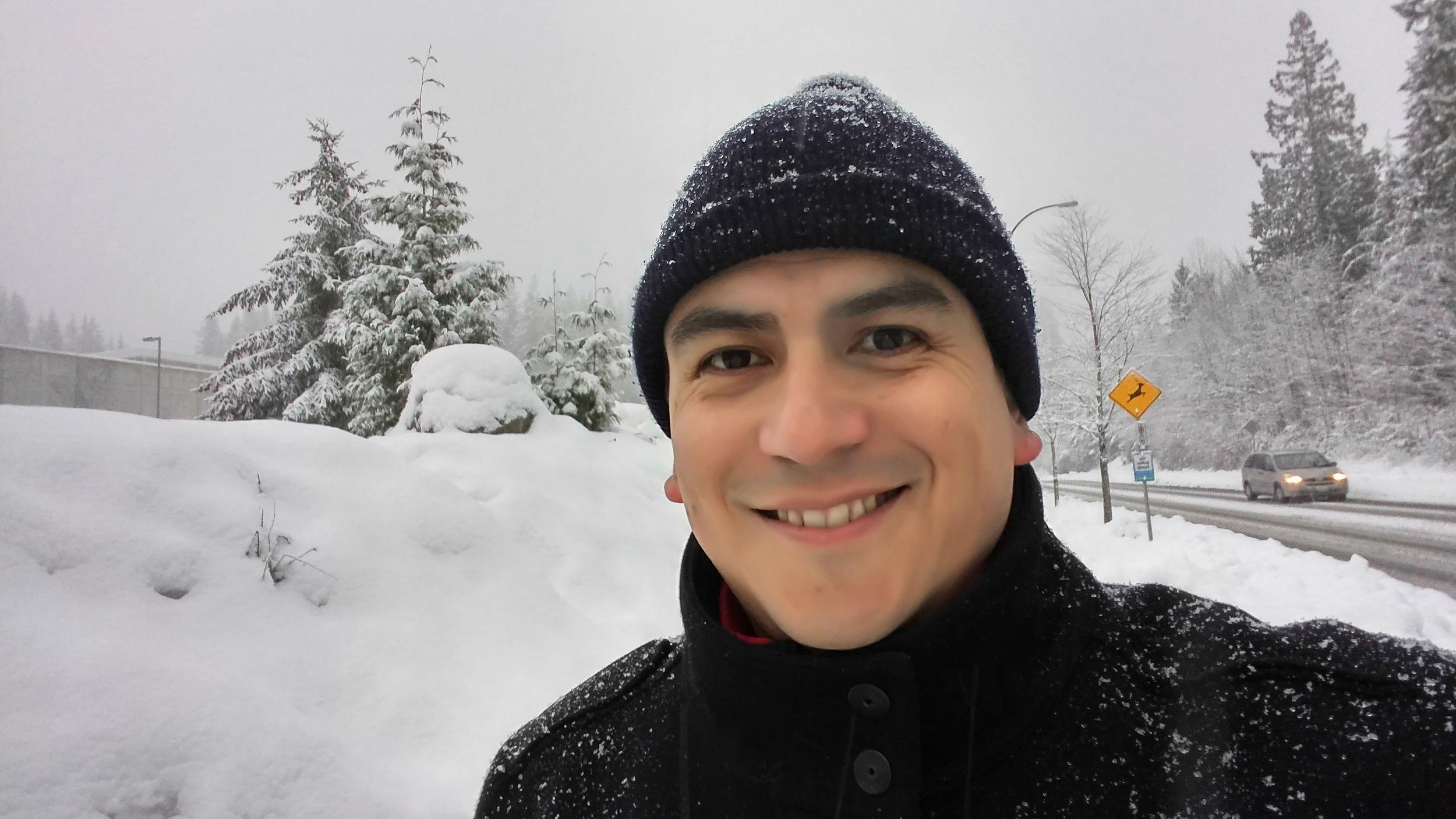Selfie invernal