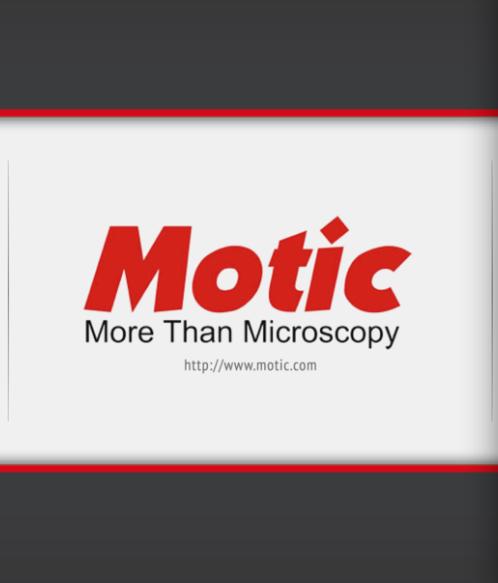 Motic iPad app