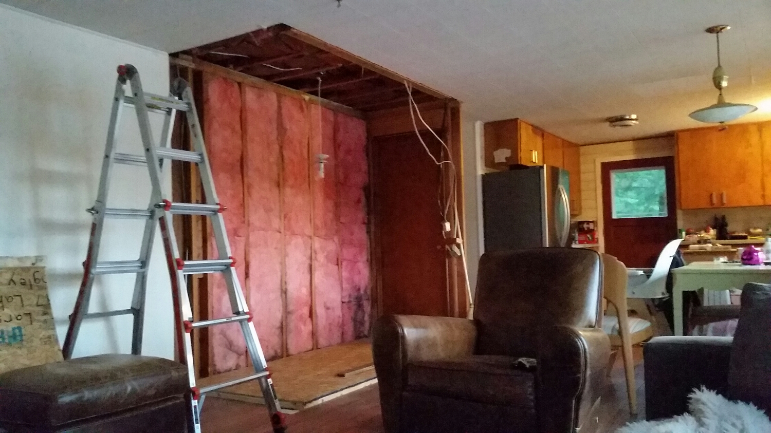 Walls removed