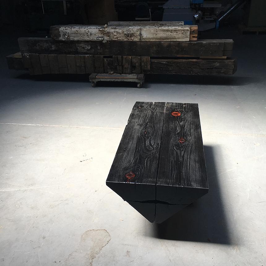 BLACKENED TABLE
