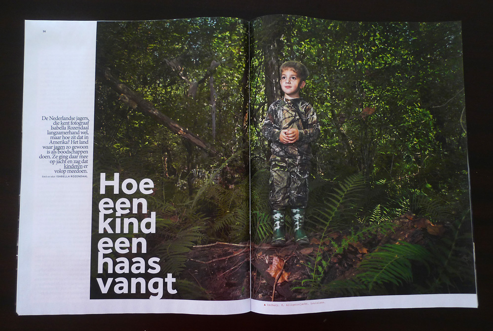 Volkskrant Magazine Youth Hunt 1