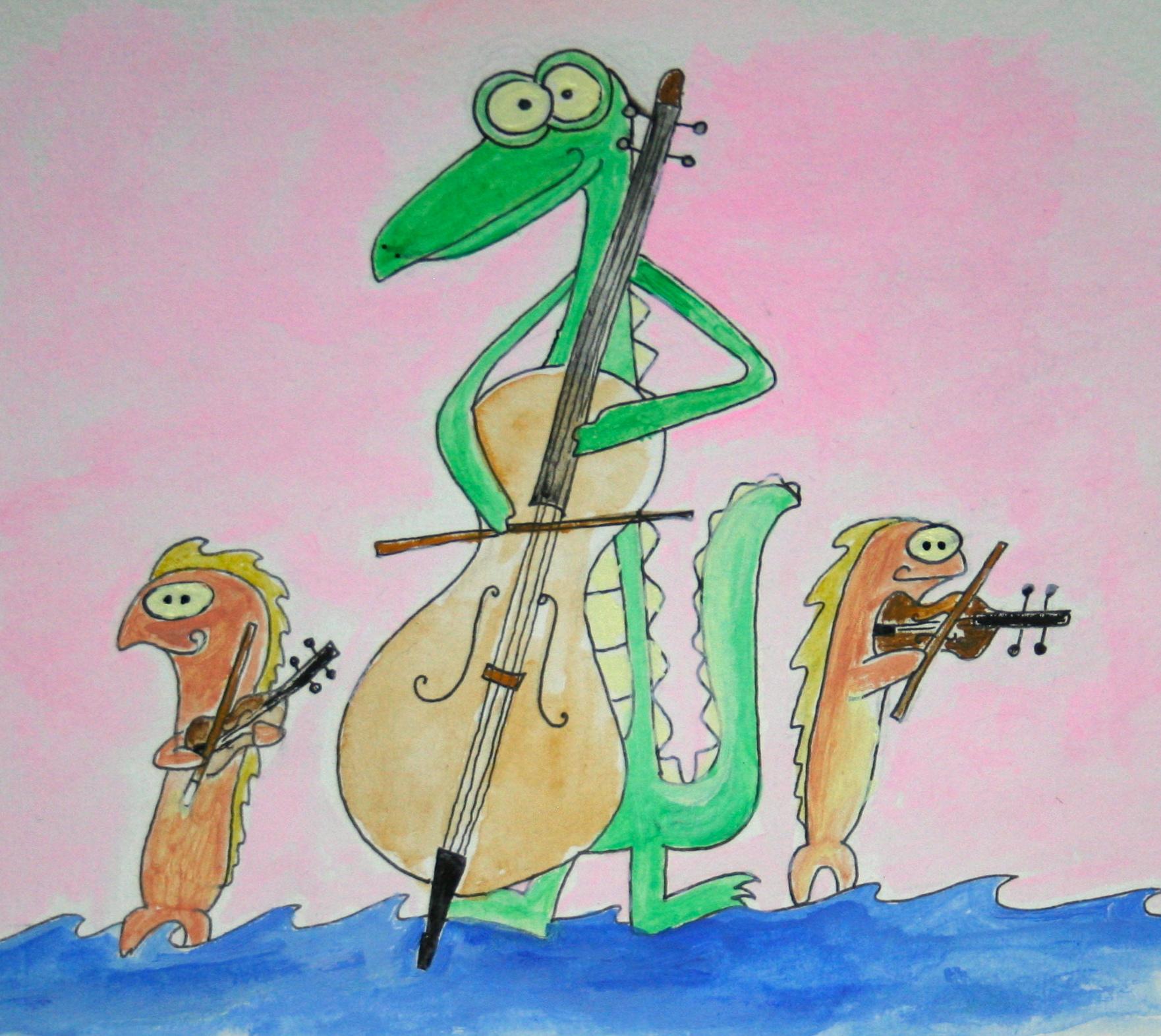 Trio in Sea Major