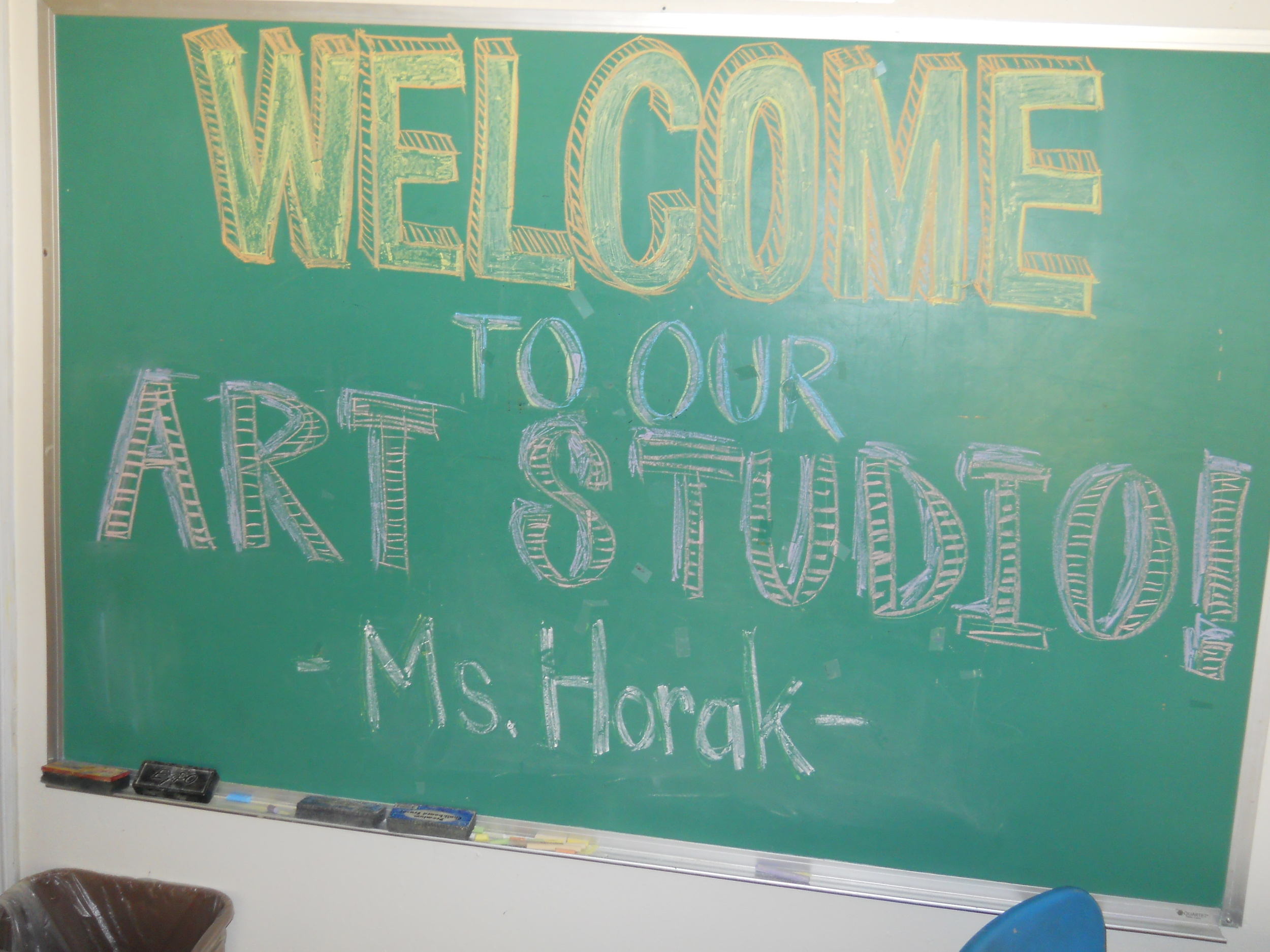 Welcome to our art studio!