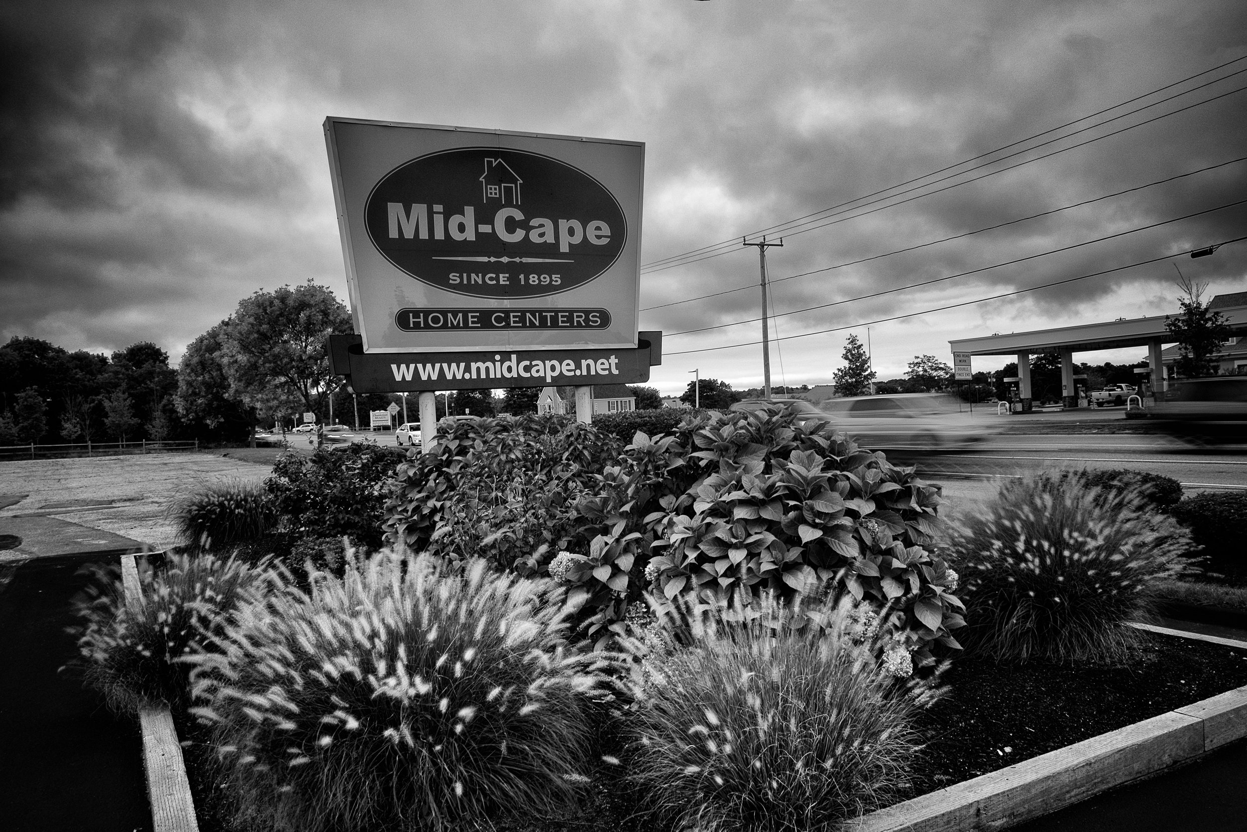 Front Entrance Sign of Mid Cape Home Centers