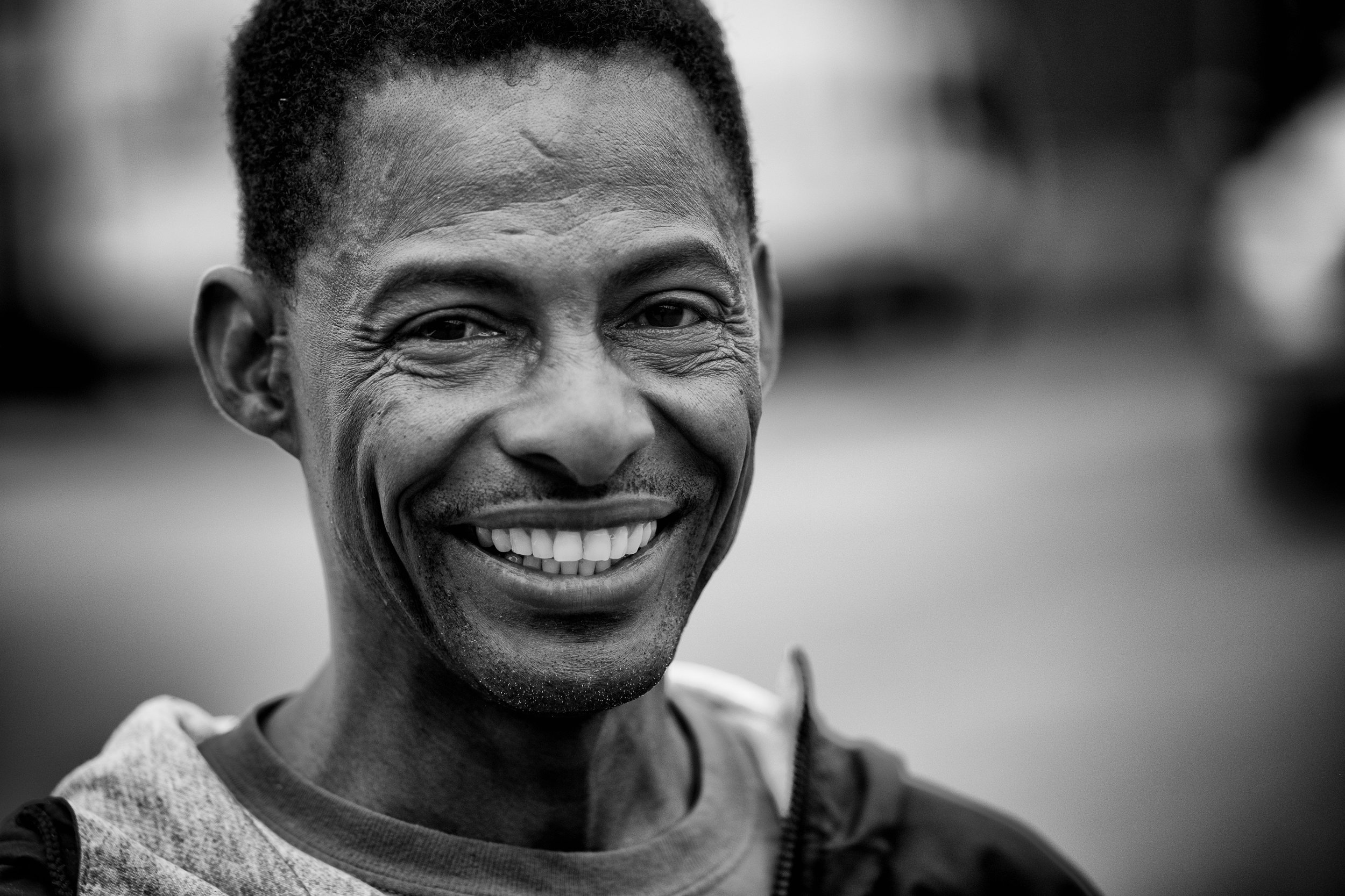 Bertram has been in this industry for many years. He immigrated from Jamaica and now supplies us with his upbeat attitude and large smiles.