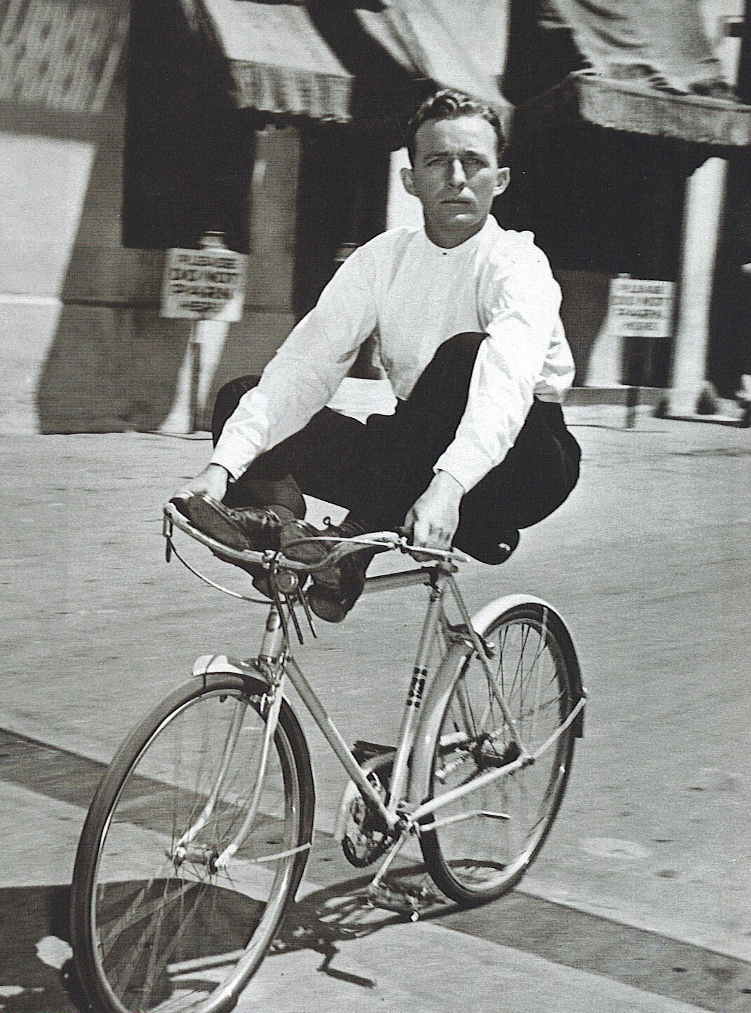 #Cycling in style