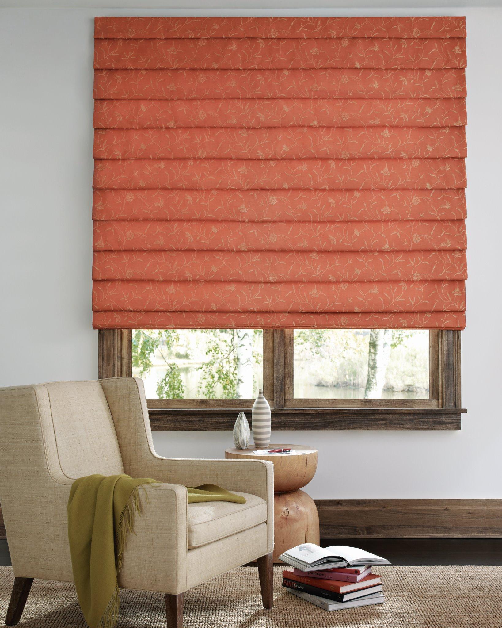 Den window treatment