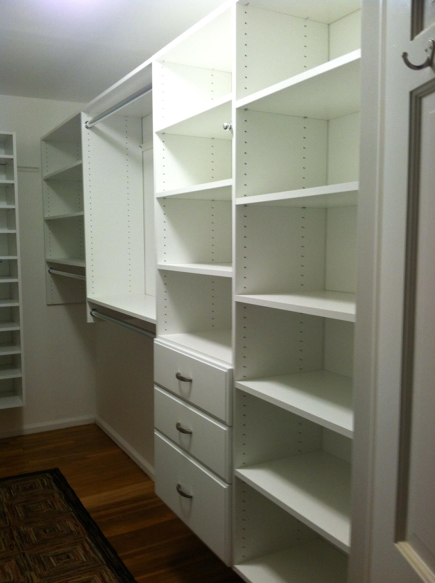 Master Bedroom Closet: After