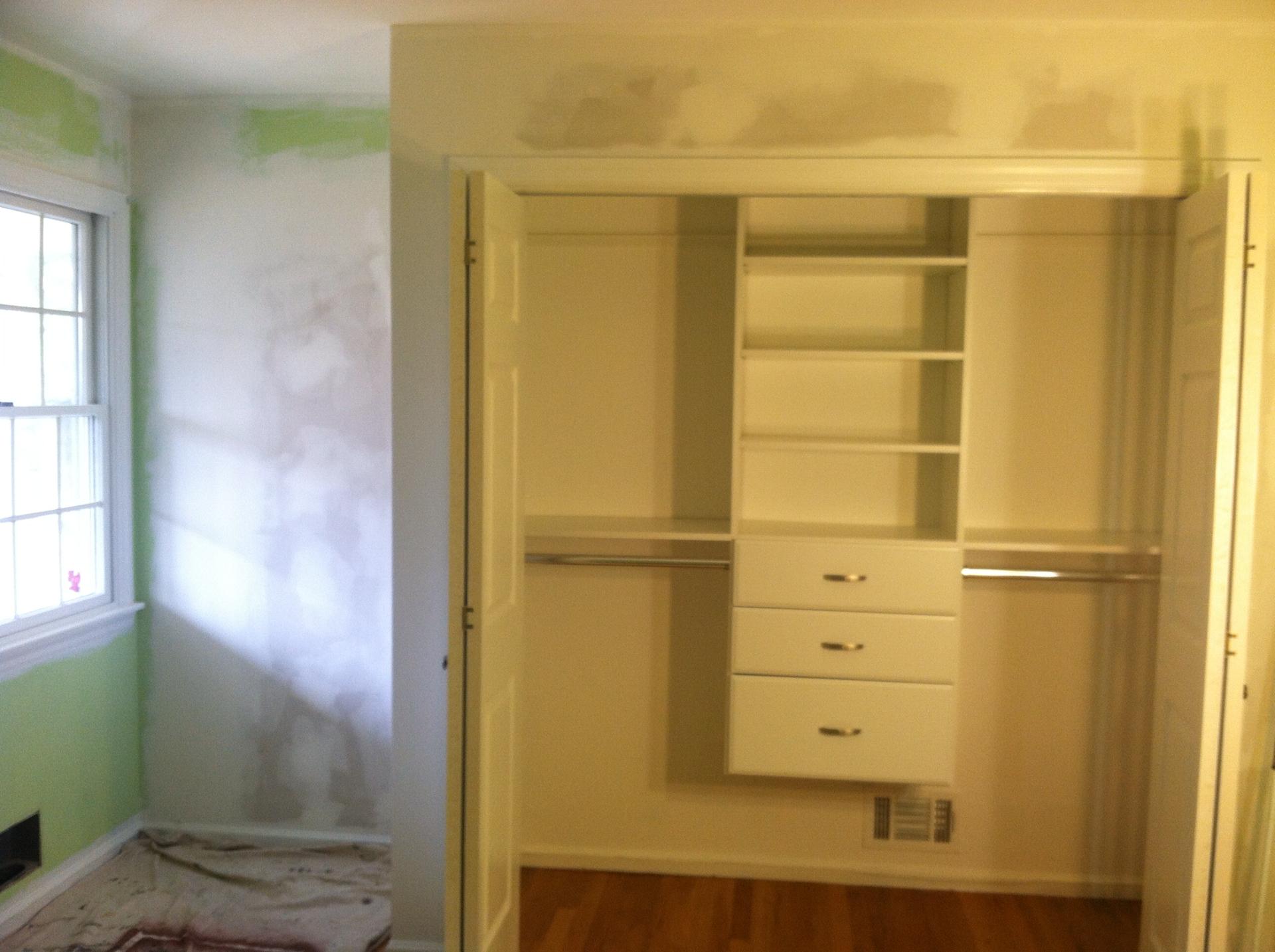 Kid's Bedroom Closet: After