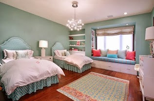 children's room with color
