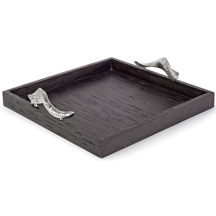 Large Wood Tray with Horn Handle .jpg
