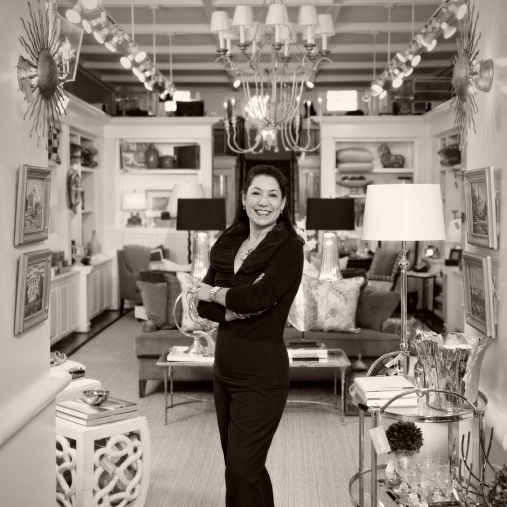 About Victoria - Victoria Sanchez, one of America's premier design professionals, has been creating one-of-a-kind interiors for hundreds of prominent clients over the past three decades.