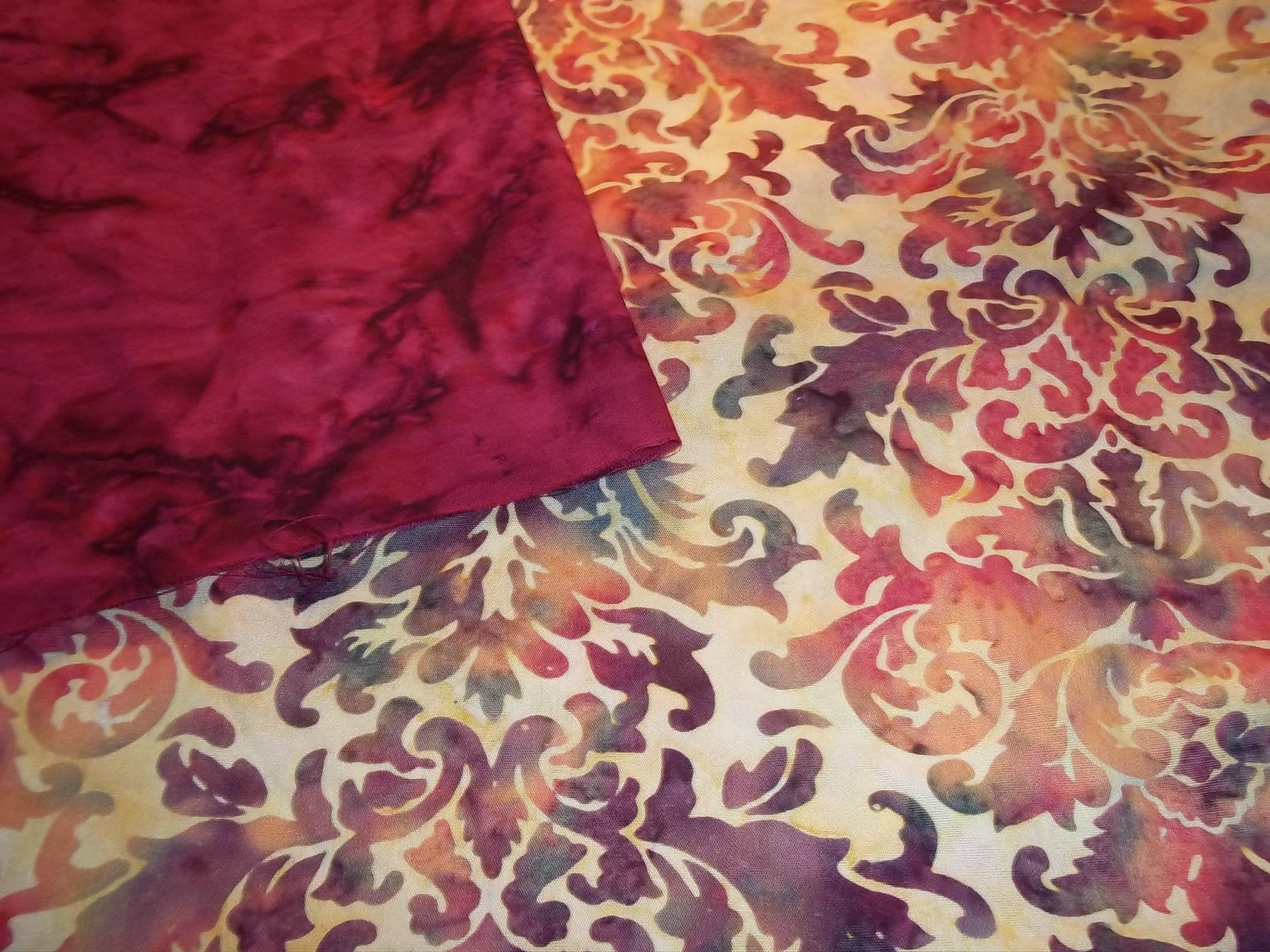 The first fabrics for Karen's Hospitality!