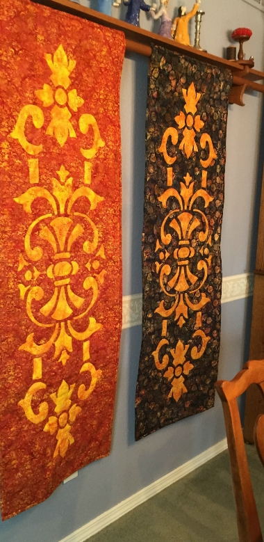 """Marrakesh    table runner, 20"""" x 60"""", for creation by hand or machine. Pre-sale item!"""