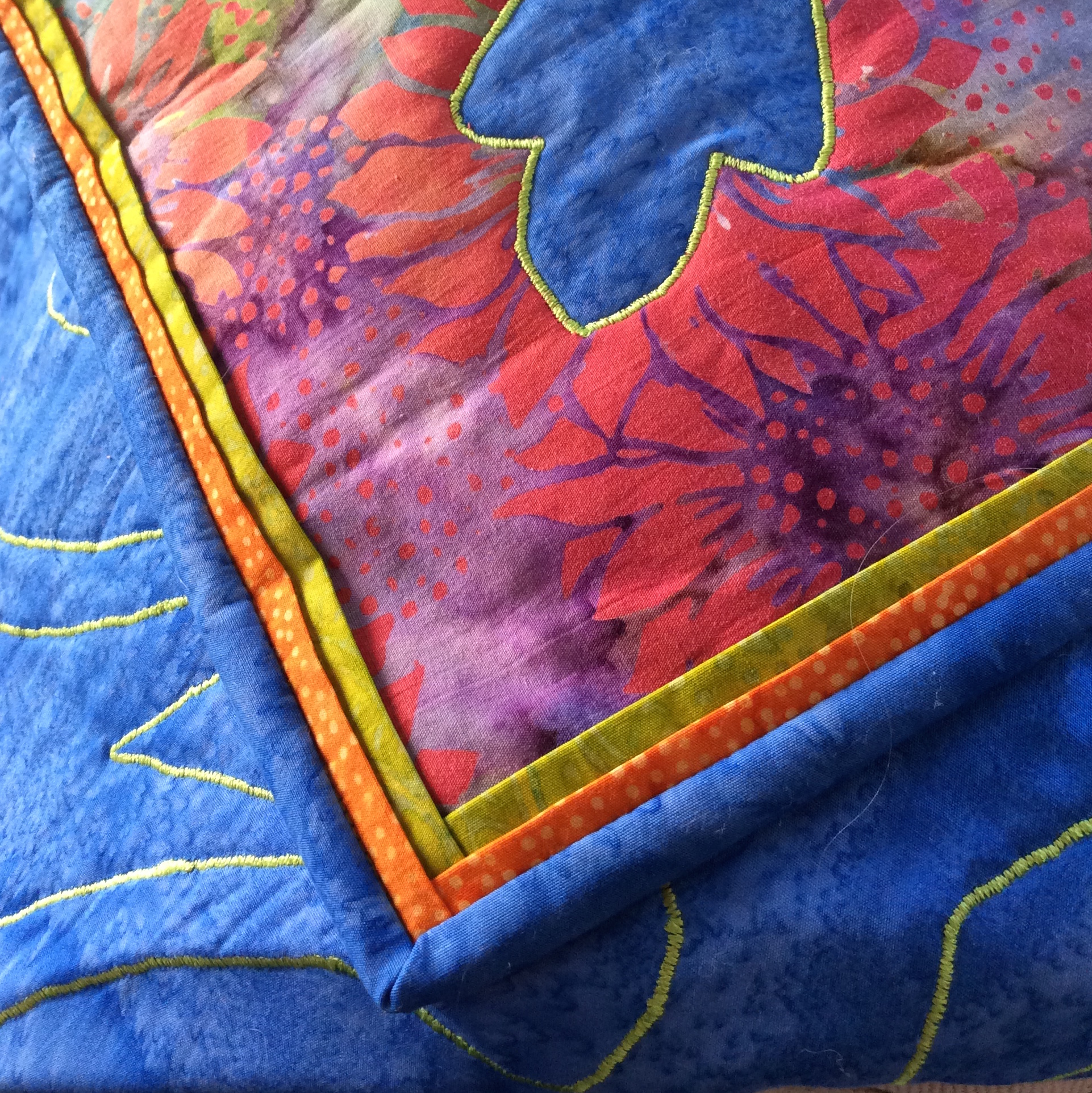 Framed Binding on  Majesty Medallion , using two frames before binding.