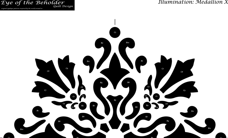 Illumination, Medallion X pattern.