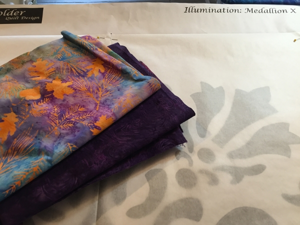 Spring Zing, love that name, fabrics for Machine Illumination.