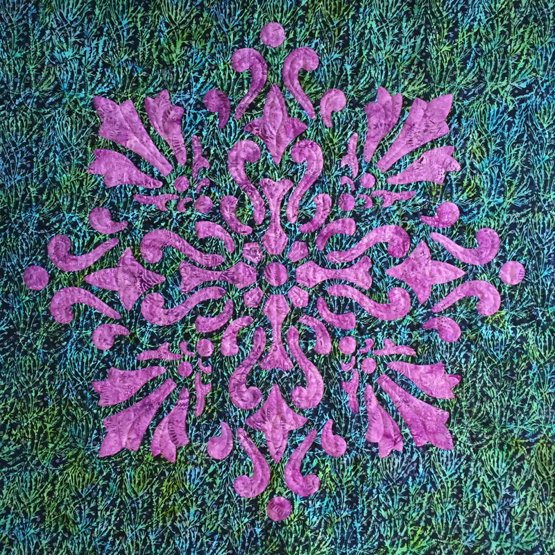 "Illumination, Medallion X  (36"" x 36"")"