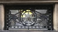 Stone & wrought iron railing, Leeds.