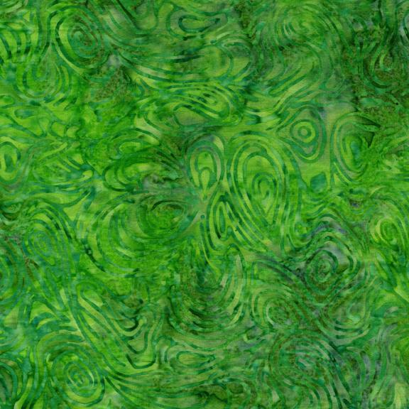 Tulip block leaves, corner posts, inner border & binding (sku: Marble-Leprechaun BE24-G1)
