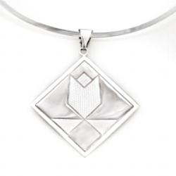 Tulip pendant in Mini/ charm, Medium and Large.