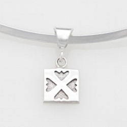 Mini/ charm Spring Love pendant.