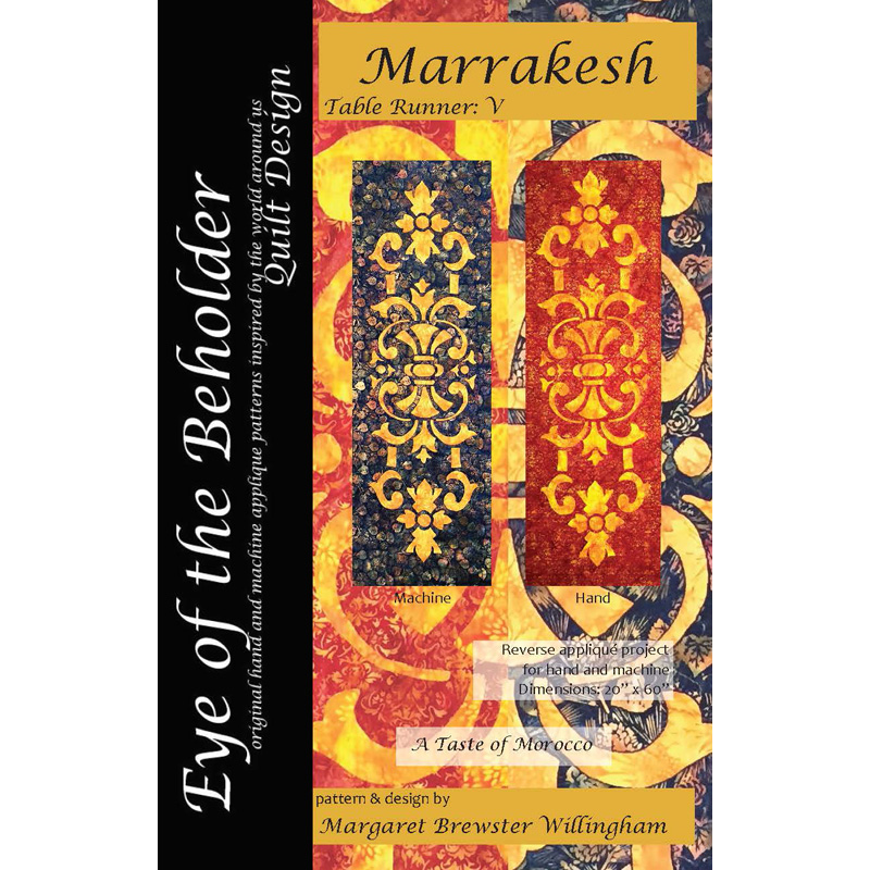 Pattern cover of  Marrakesh table runner
