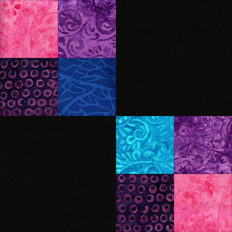 Double 4-patch block