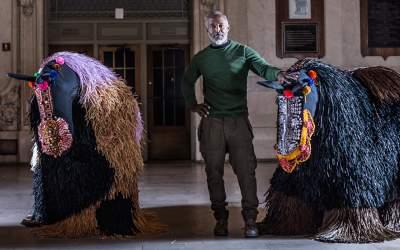 """World Renowned Artist Nick Cave """"Blankets"""" Shreveport - KTBS News"""