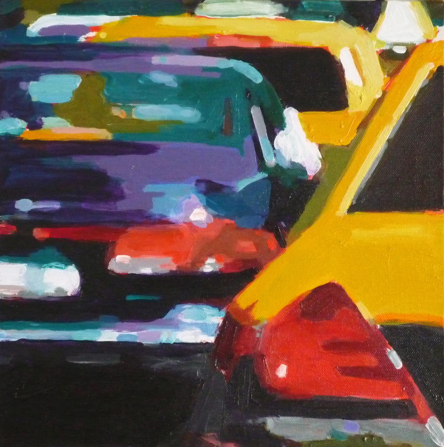Taxi Close-Up