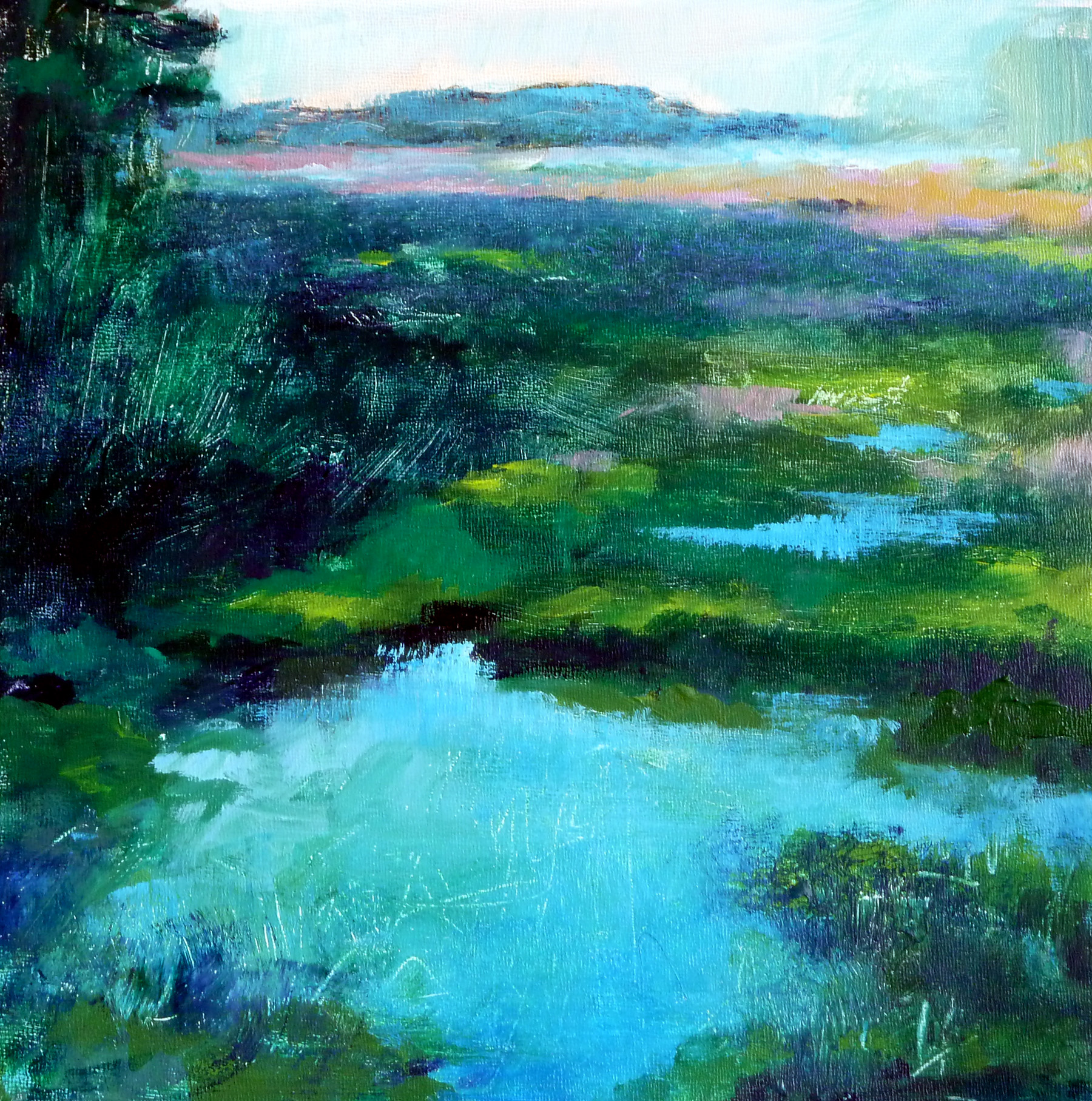 Blues Pond