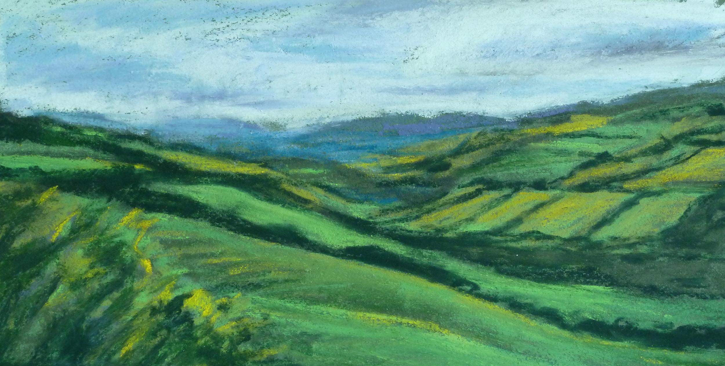 Hills in Ireland