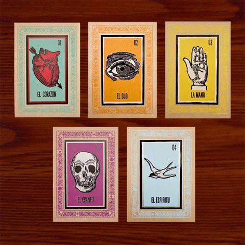 Loteria Art Prints by Hammerpress Studio