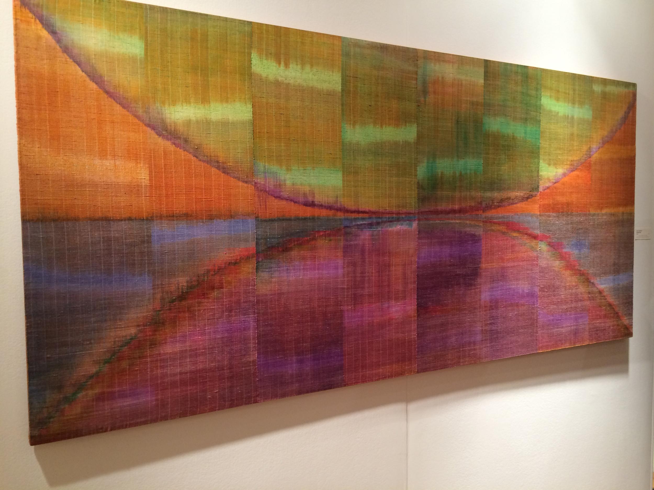 Polly Barton, Persephone, 2008  Woven silk ikat