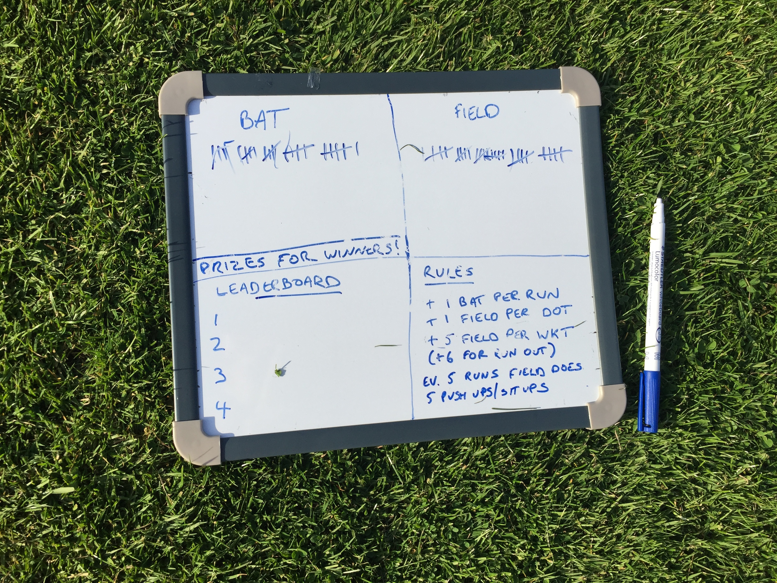 Scoring middle practice