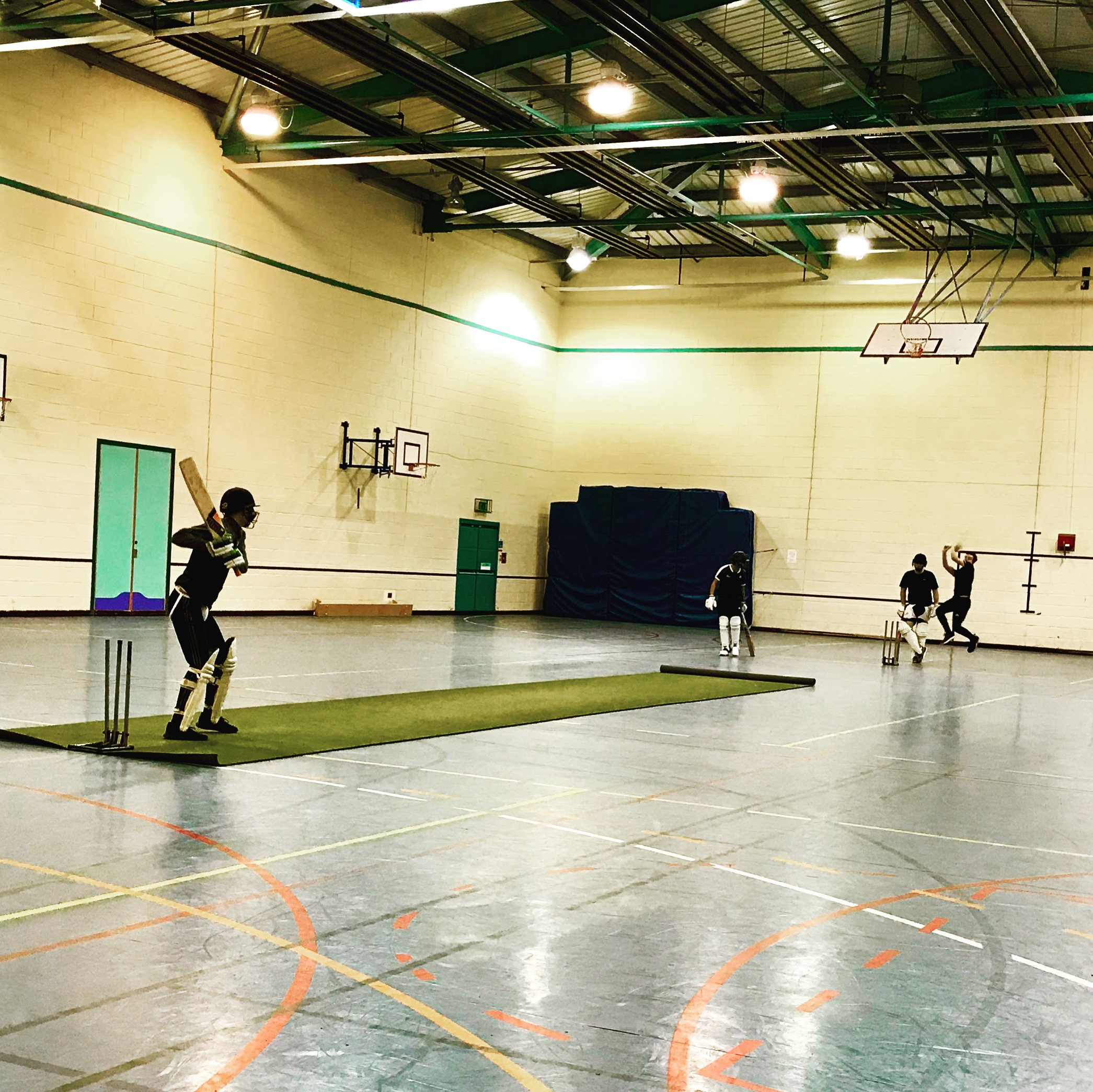 Nets without nets: A customised game to develop outdoor cricket batting skills.