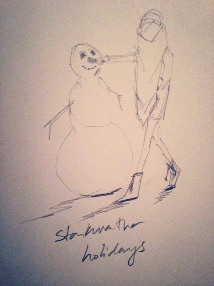 Starkweather Holidays...Outerwear for Snowman building