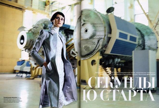 PHOTOGRAPHY BY  Arthur Elgort  for Vogue Russia, MODEL Natalia Semanova